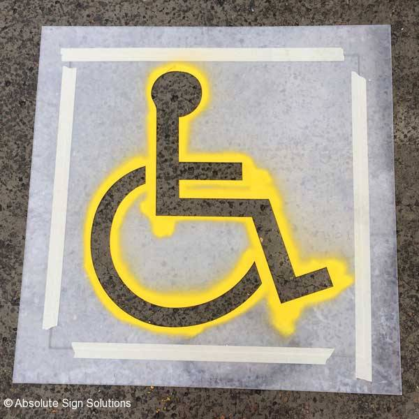 Safety Signs Ohs Disabled Traffic Numerical Signs Absolute