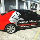 A vehicle signage wrap to hsv holden vehicle wrap to hsv holden by Absolute Sign Solutions Australia