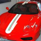 Vehicle striping for ferraris and other prestige vehicles by absolute sign solutions Vehicle striping ferrari by absolute sign solutions - sydney Australia