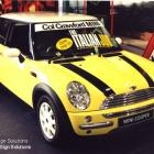 Vehicle custom decals custom made to all types of vehicles Vehicle custom decals to mini cooper by Absolute Sign Solutions Australia