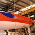 boat-mask & sprayed boat decals & striping Australia