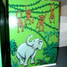 jungle cartoon murals Australia