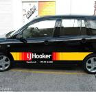 L J Hooker car branding signs and decals L J Hooker car branding signage Australia