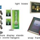 display stands, brochure & poster holders, slim light boxes display stands, brochure & poster holders, slim lightboxes Australia