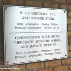 aluminium signage, church signs, church signage, school honour boards aluminium sign with stainless steel fixings Australia