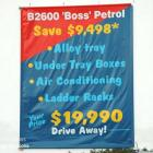 Billboard banners are effective means of advertising. Absolute Sign Solutions can print or handprint large banners Banner billboard hand painted and installed by Absolute Sign Solutions Australia