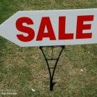 corflute grass spike sign corflute grass spike - sale signs, sporting event signage, garage sales, real estate Australia
