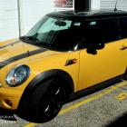 Mini stripes made and installed by absolute sign solutions Mini front and side stripes custom made and installed by absolute sign solutions Australia