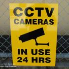 CCTV signs, safety signs, warning signs, OHS signs all made and installed by absolute sign solutions CCTV and safety signs made and installed by absolute sign solutions Australia