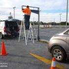 Absolute Sign Solutions have over 30 years experience in signmaking and sign installation. We follow safe work practices and ensure you have a quality job. Carpark sign installation following OHS guidelines by Absolute Sign Solutions Australia