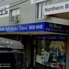 Refacing your old awning with new sign panels can really boost your business image.