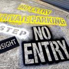 Absolute sign Solutions make all types of stencils for spraying concrete, roadways, walls and more Assorted stencils made for customers by Absolute Sign Solutions Sydney Australia