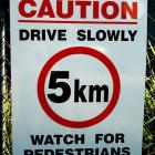 Safety signs & speed limit signage is generally made from robust metal Safety signs & speed limit signs by Absolute Sign Solutions Australia