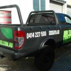 It's amazing when you apply new signage to an older it makes it look almost new again. Absolute sign solutions can help you with all types of vehicle signage at competitive prices. We have over 30years experience in the signage industry. New signage to an old tradies ute makes it almost like new - by Absolute Sign Solutions Sydney Australia