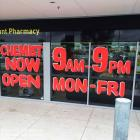 Handpainted shop signs stand out more than the average run of the mill printed vinyl of vinyl cut lettering.