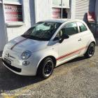 We can custom make all types stripes for motor vehicles as well as installation. We can design original stripes or duplicate factory spec stripes and decals Stripes to Fiat 500 custom made and installed by Absolute Sign Solutions Sydney Australia
