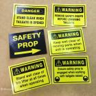We supply safety stickers and signs to businesses all over Sydney. We supply safety stickers and signs to tradesmen and the building industry. We can do small runs or larger quantities depending on your requirements. Safety stickers for the workplace and tradesmen - Sydney Australia