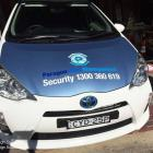 Security decals for all types of vehciles in Sydney Security vehicle signage by Absolute Sign Solutions Sydney Australia