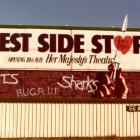 Large billboard signage Sydney West Side Story billboard Sydney Australia