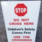Safety signs Sydney Road side safety aframe sign by Absolute Sign Solutions Australia