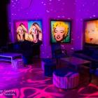 pop art prints illuminated prints for parties and events Australia