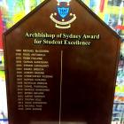timber honour boards Sydney Academic honour boards for schools and universities Australia