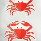 Vinyl stickers Vinyl sticker printed and contour cut to shape Australia