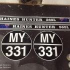 Speed boat stickers Haines Hunter sticker set for vintage speed boat Australia
